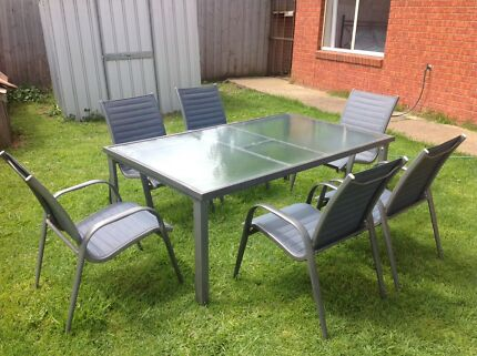 Outdoor setting. Outdoor timber setting   Outdoor Dining Furniture   Gumtree