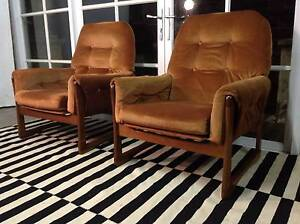 Stunning Retro-Vintage Eames-Danish-Parker SLED CHAIRS-Can Deliv Arncliffe Rockdale Area Preview