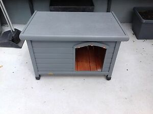 Spacious kennel in slate grey colour Balmain Leichhardt Area Preview