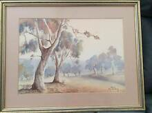 2 x Beautiful Framed Australian Water Colour Scenes Templestowe Manningham Area Preview