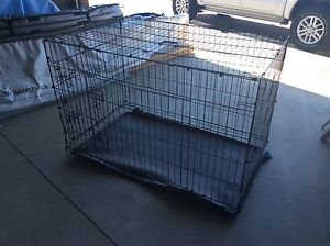 Dog crate large Busselton Busselton Area Preview