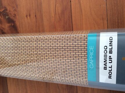 4 Bamboo blinds NEW will separate