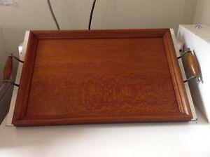 Vintage silky oak tray. Mascot Rockdale Area Preview