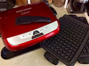 George Foreman Evolve grill/panini/waffle maker - hardly used
