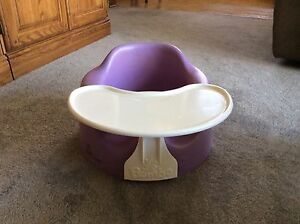 Bumbo floor seat with tray
