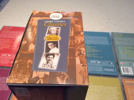 Grand Ole Opry - Classic  DVD collection. ( 8)