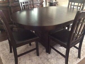 42 Round Dining Table And 4 Chairs