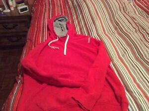 Men's Under Armour and Reebok hoodies