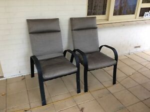 2 Outdoor Armchairs Clarence Park Unley Area Preview