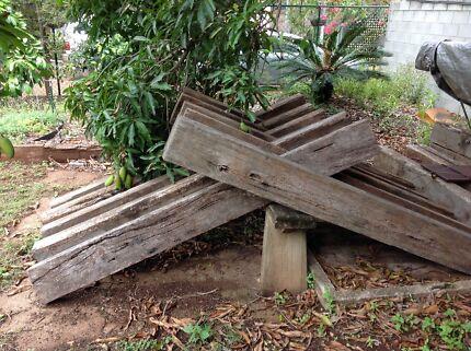 Hardwood ex railway sleepers b grade fairly good