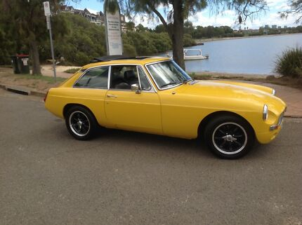 1976 MGB GT Five Dock Canada Bay Area Preview