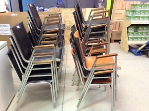 Stackable chairs @ hfhgta