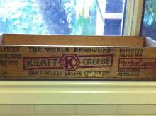 KRAFT CHEESE WOODEN CRATE Nerang Gold Coast West Preview