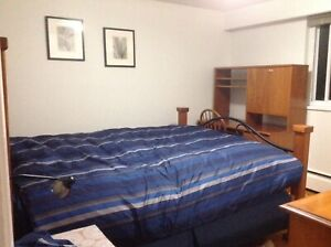 Private furnished room available April 1