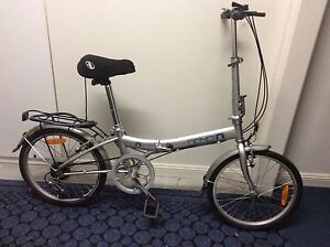 Folding Bicycle with Carry Bag Fullerton Cove Port Stephens Area Preview