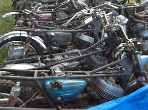 Parting Out 13 1968-1977 Suzuki T500 GT500 Titan Cobras