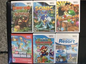 Bunch of Wii games for sale