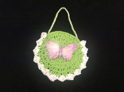 Girls spring fashion.bag.hand knitted. Epping Whittlesea Area Preview