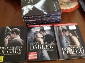 Fifty Shades of Grey DVD set and books