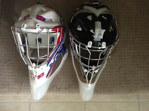 New Street/Ground Hockey Goalie Mask Set......$50  No Hold