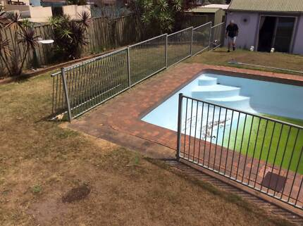 second hand pool fence