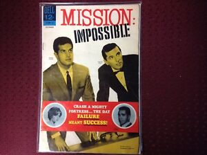 MISSION:IMPOSSIBLE #3 Dell Comic 1967 VG.