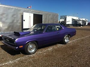 1970 Plymouth Duster RACE Car