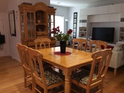 Dining Set, Table and Buffet