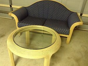 Cane couch and coffee table Kooralbyn Ipswich South Preview