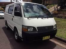 2002 Toyota Hiace Van/Minivan Eschol Park Campbelltown Area Preview