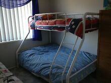 Double bunk bed and futon Eden Hill Bassendean Area Preview