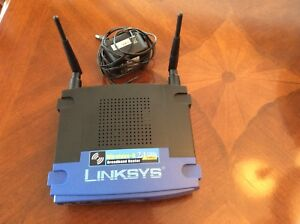 LINKSYS Wireless -G 2.4GHz 54 Mbps Router
