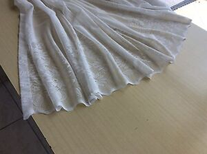 Curtains and tracks for sale Grange Charles Sturt Area Preview