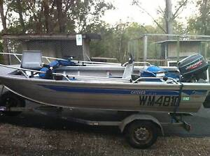 4.1 m stessco boat with trailer and 25 hp outboard Tallebudgera Gold Coast South Preview