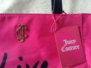 Juicy Couture pink , live famously bag, brand new with tags