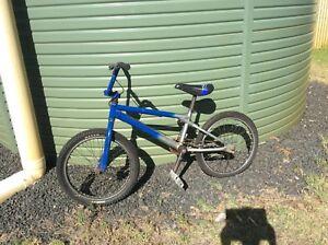 Solid off road BMX bike