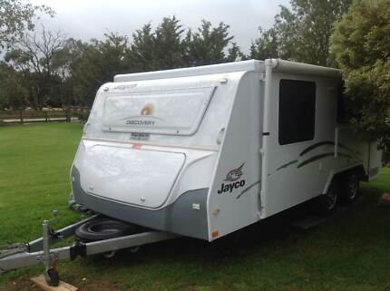 2012 Jayco Discovery Pop Top 17.6ft - USED FOR ONLY 2 WEEKS! Officer Cardinia Area Preview