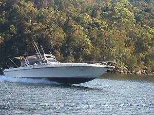 Yamaha twin counter rotating 300HP (600HP). Bar Point Gosford Area Preview