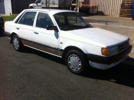 1986 Ford Meteor Sedan Clontarf Redcliffe Area Preview