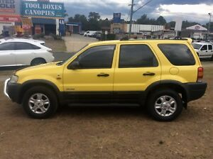 2001 Ford Escape XLT 4x4 3.0 Auto SUV Long Rego The Best