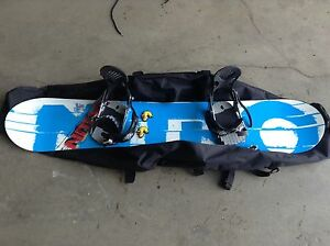 Nitro Prime 156cm Wide Snowboard with Ride bindings
