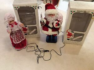 Santa and Mrs Claus Animated Decorations