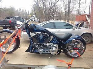 2014 Prostreet 123s&s 6speed softail frame 280 rear  trades