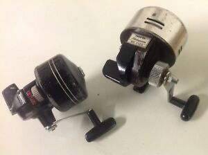 COLLECTION OF 12 SPINCAST FISHING REELS