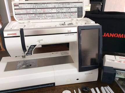 JANOME MC12000 SEWING/EMBROIDERY MACHINE & MBX DIGITIZER SOFTWARE Bowral Bowral Area Preview