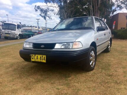 1992 Hyundai Excel Only 78,000kms Auto 4 Cyl 5 Door Hatch
