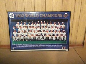 Blue Jays WC 1992 Framed