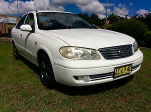 2005 Nissan Pulsar N16 ST 4 Cyl 5 speed 3 months Rego Woodbine Campbelltown Area Preview