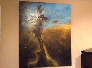 Belle peinture 42 pouces X 52 pouces à vendre, faites une offre!