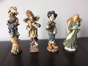 VINTAGES BOYDS BEAR FIGURINE COLLECTIONS